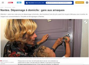 ouest-france-belenos-serrurier-nantes